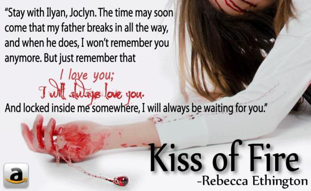 Kiss of Fire quote